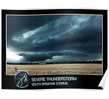 Branded: Severe Thunderstorm Poster