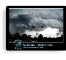 Branded: Supercell Thunderstorm Canvas Print