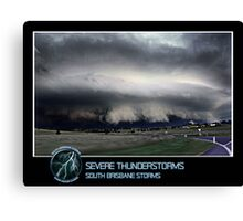 Branded: Severe Thunderstorms Canvas Print