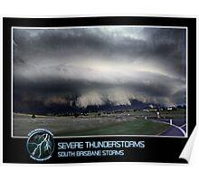 Branded: Severe Thunderstorms Poster