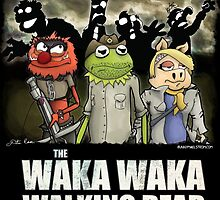 The Waka Waka Walking Dead by BunnyMaelstrom