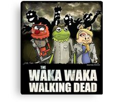 The Waka Waka Walking Dead Canvas Print