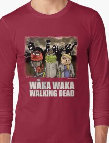 The Waka Waka Walking Dead Long Sleeve T-Shirt