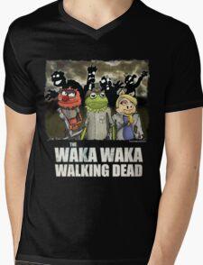 The Waka Waka Walking Dead Mens V-Neck T-Shirt