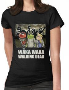 The Waka Waka Walking Dead Womens Fitted T-Shirt