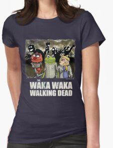 The Waka Waka Walking Dead Womens Fitted T-Shirt