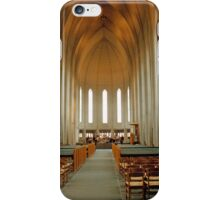 Inside Hallgrimkirkja iPhone Case/Skin