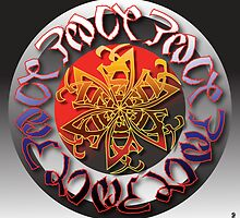 Peace & Love Symbiotogram by Jerry Crow