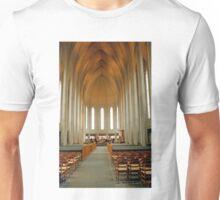 Inside Hallgrimkirkja Unisex T-Shirt