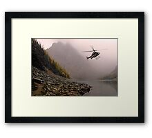 Fly Low, Stay Straight Framed Print