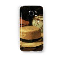 Still-Life with Yellow Straw Hat Samsung Galaxy Case/Skin