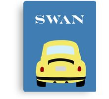 Once Upon a Time - VW Swan Canvas Print