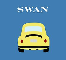 VW Swan by OutlineArt
