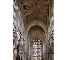 Cathedral Ceiling Photographic Print