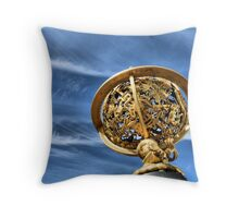 Star Mapping Throw Pillow