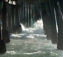 Beneath the Pier - San Clemente Beach/T-Street by Pegasus796