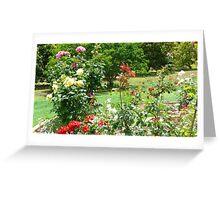 Rose Garden. Camelot. Greeting Card