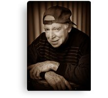 Cool Dude at 81 Canvas Print