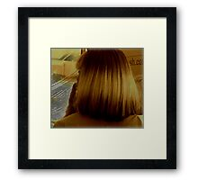 Hair!!! Framed Print