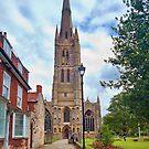 St Wulfram's Church, Grantham. by Ray Clarke