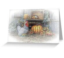 Autumn's Roost Greeting Card