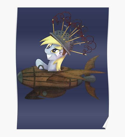 My Little Pony - MLP - Derpy Hooves Poster