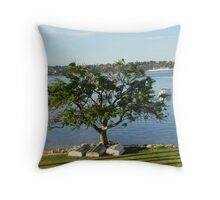 Under the Dingy Tree Throw Pillow