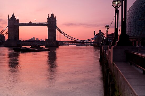 Tower Bridge Sunrise by DonDavisUK