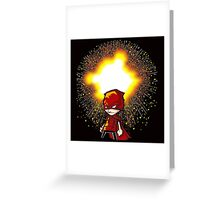 Calvin And Hobbes Superhero Greeting Card