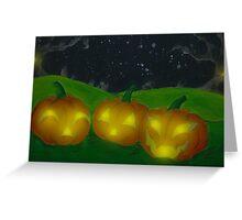Lantern Trio Greeting Card