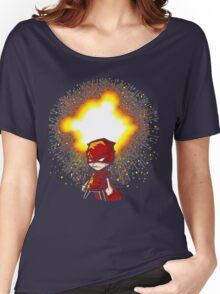 Calvin And Hobbes Superhero Women's Relaxed Fit T-Shirt
