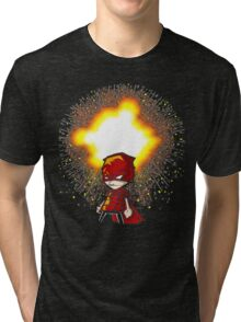 Calvin And Hobbes Superhero Tri-blend T-Shirt