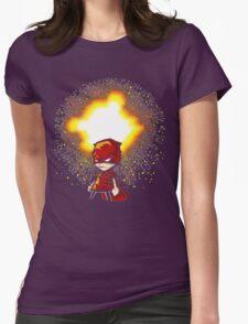 Calvin And Hobbes Superhero Womens Fitted T-Shirt