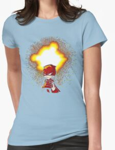 Calvin And Hobbes Superhero Womens Fitted T-Shirt