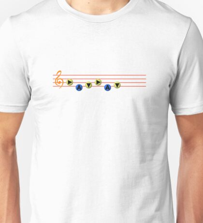 Ocarina Melodies - Song of Time Unisex T-Shirt