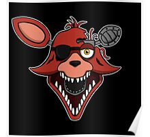 Five Nights at Freddy's - FNAF 2 - Foxy Poster