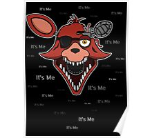 Five Nights at Freddy's - FNAF 2 - Foxy - It's Me Poster