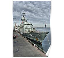 HMAS Perth Poster