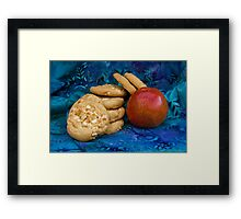 Cookies with Apple Framed Print