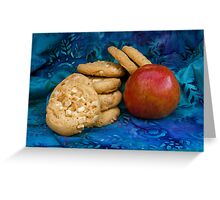 Cookies with Apple Greeting Card