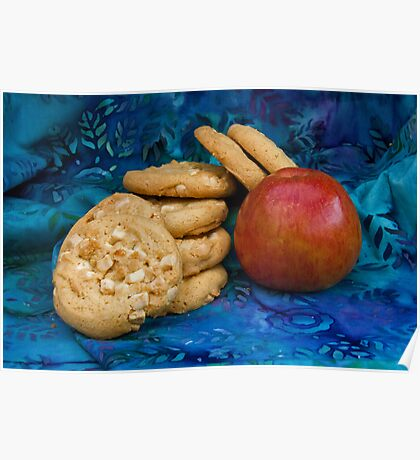 Cookies with Apple Poster