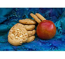 Cookies with Apple Photographic Print