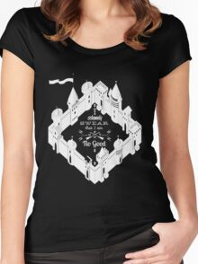 Marauder Map Quote Women's Fitted Scoop T-Shirt