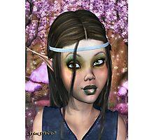 Enchanted Elf Maiden Photographic Print