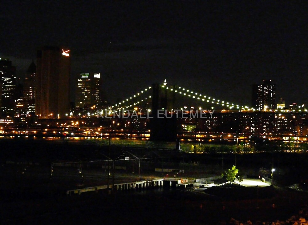 BROOKLYN BRIDGE PARK IN DUMBO by KENDALL EUTEMEY