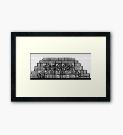 Apartments  'METALLICA'  on Port Avenue Framed Print