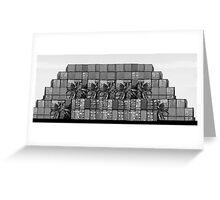 Apartments  'METALLICA'  on Port Avenue Greeting Card