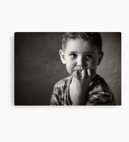 I wonder if Mom's seen what I did to the bathroom yet? Canvas Print