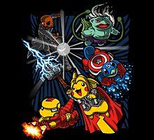 Avengermon! by theartofm