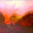 Cornworthy Garden Abstract.. by Mike  Waldron